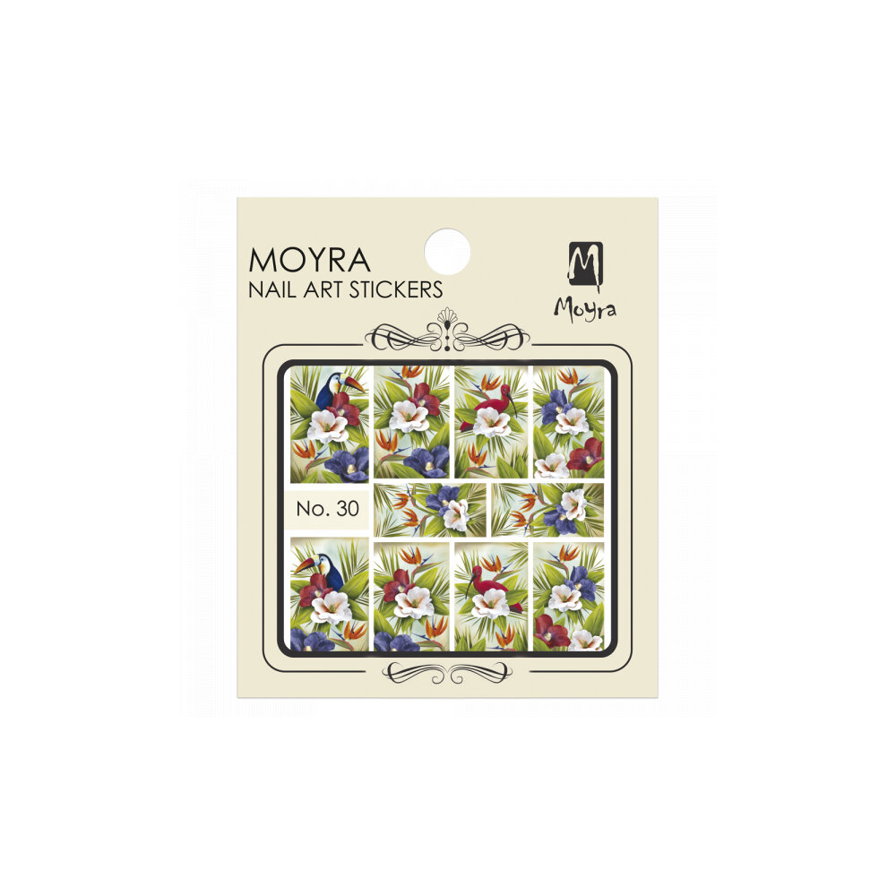 Moyra Water Decals 30