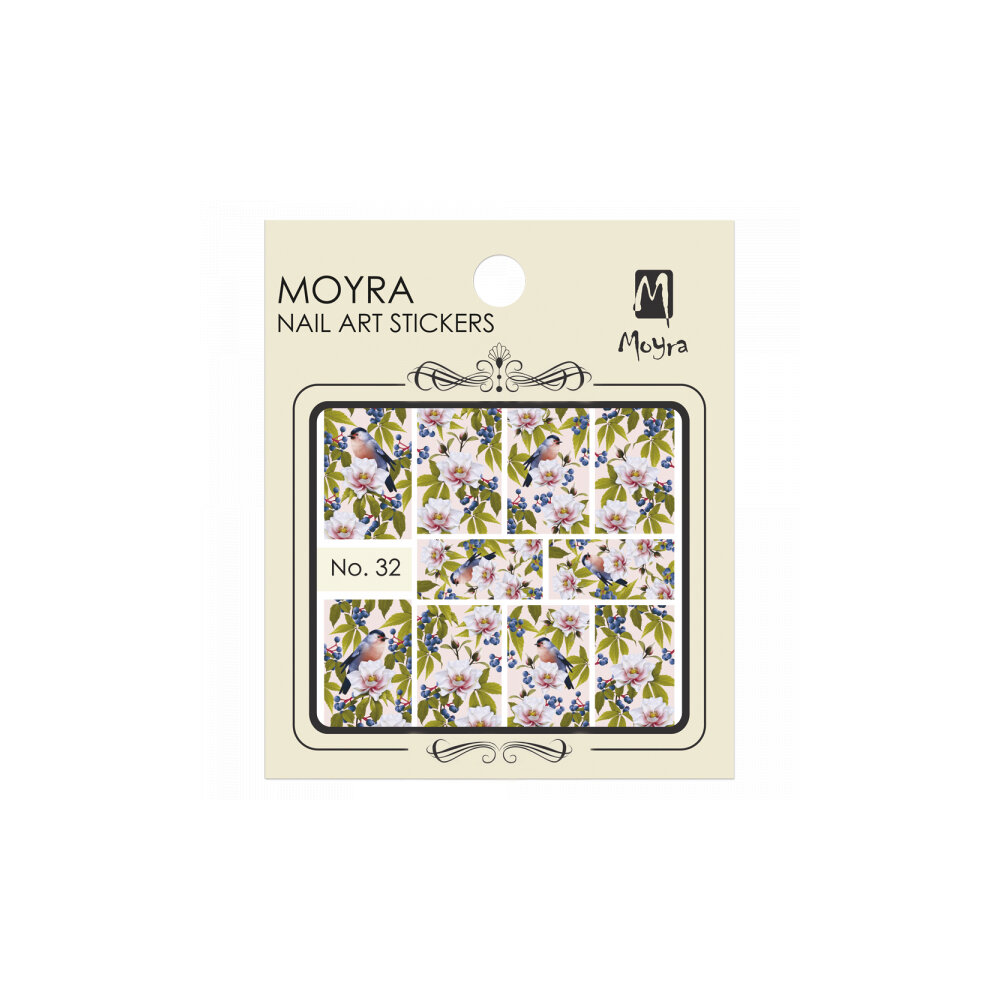 Moyra Water Decals 32