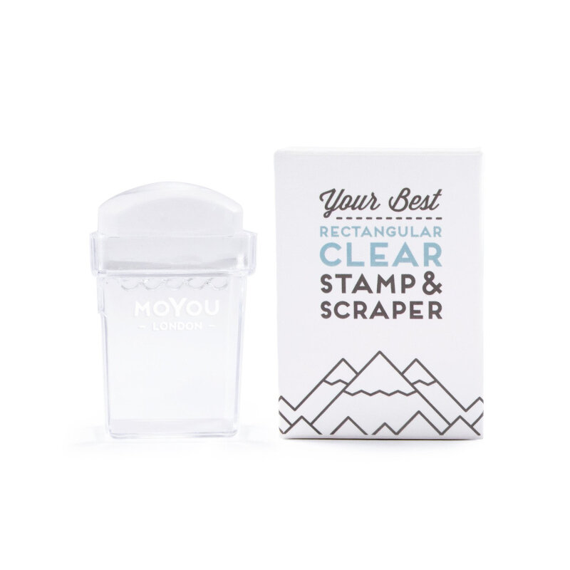 MoYou London Clear rektangulær stamper