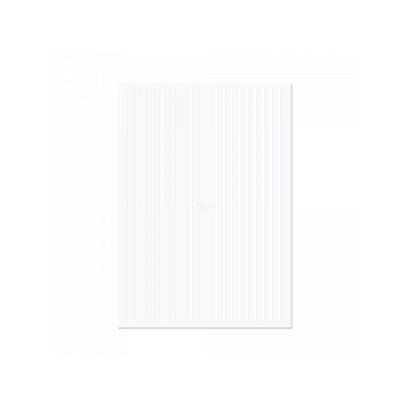 Moyra Nail Art Stripes 04 White