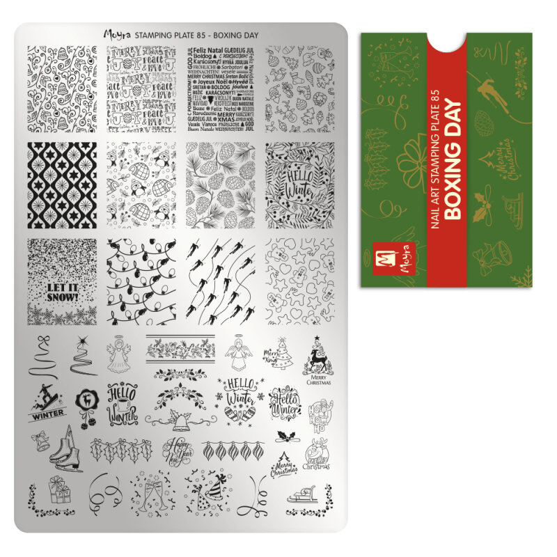 Moyra stamping plade 85 boxing day