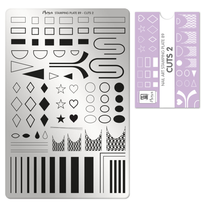 Moyra stamping plade 89 Cuts 2