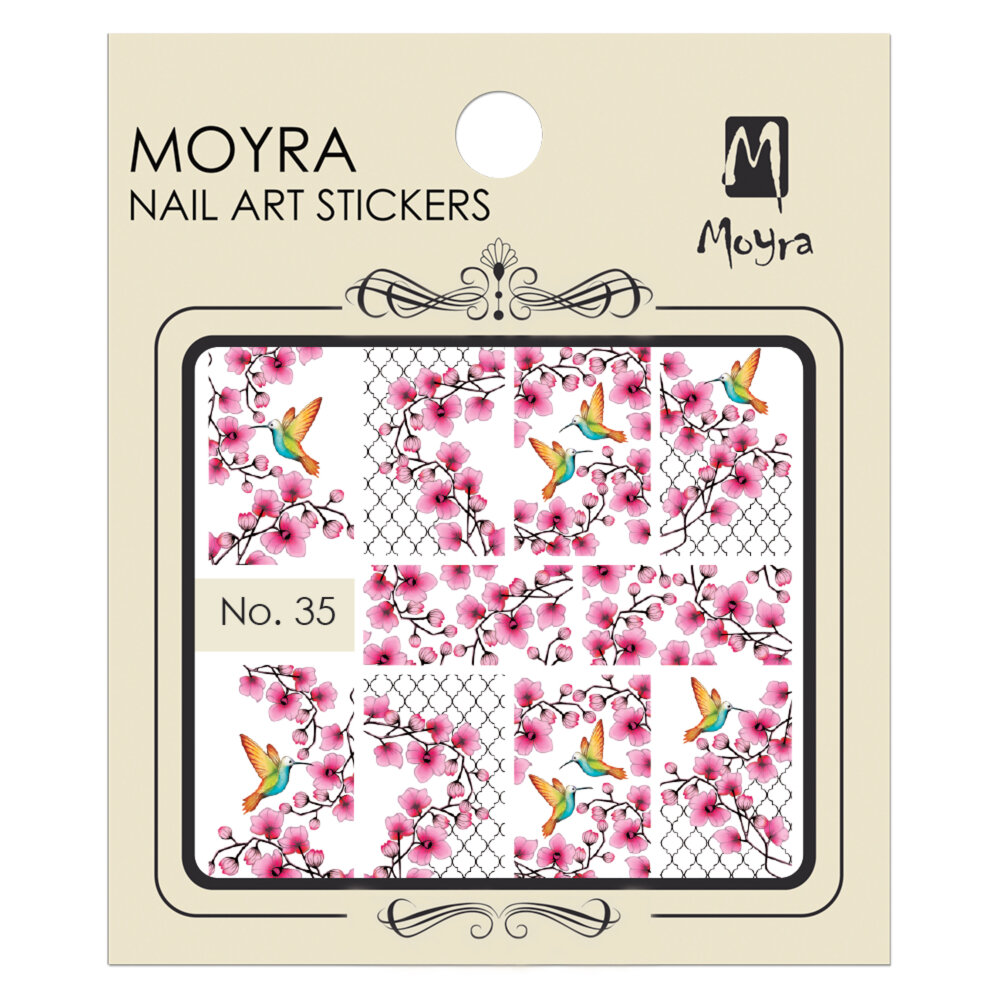 Moyra Water Decals 35