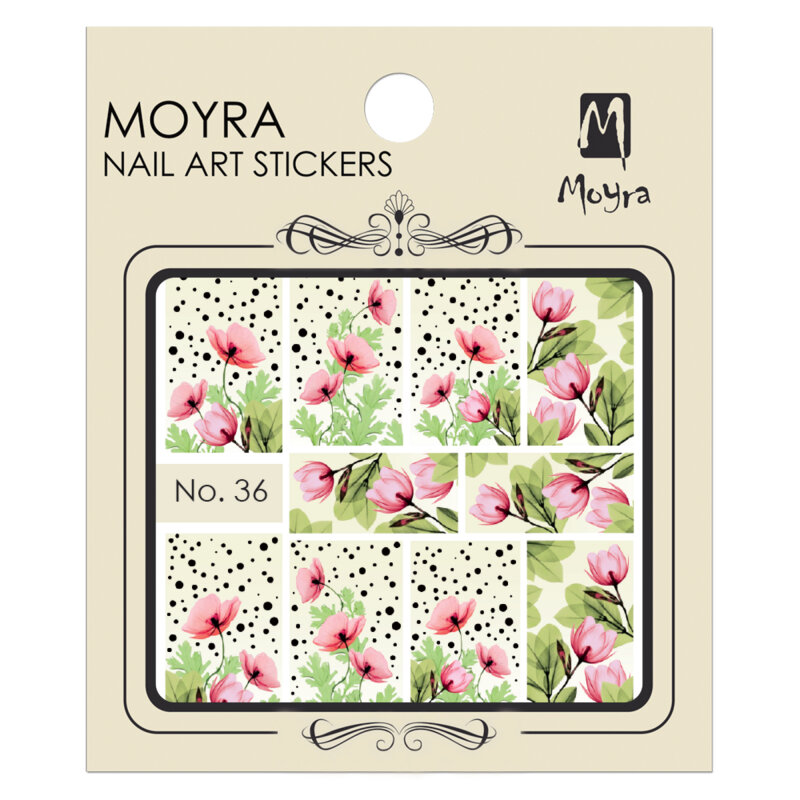 Moyra Water Decals 36