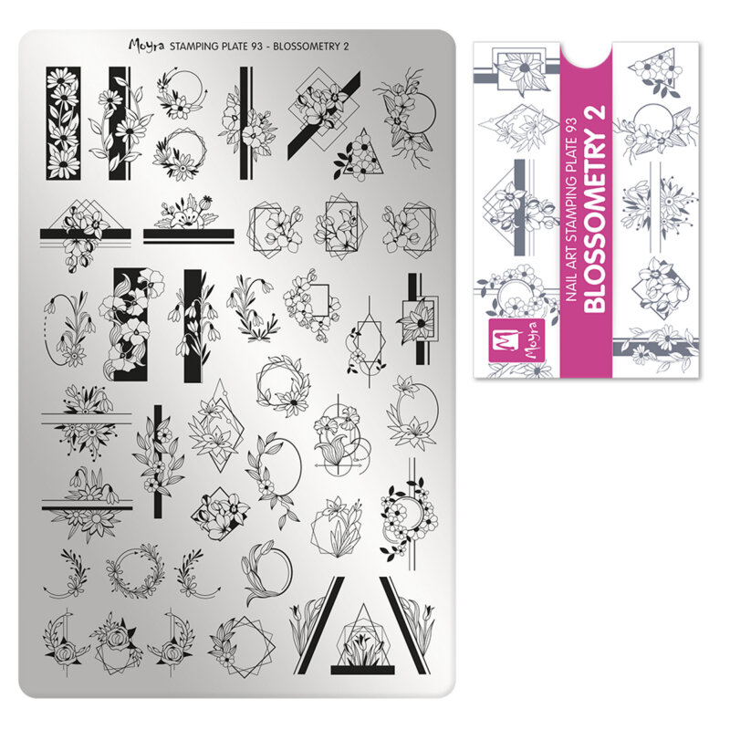 Moyra stamping plade 93 Blossometry 2