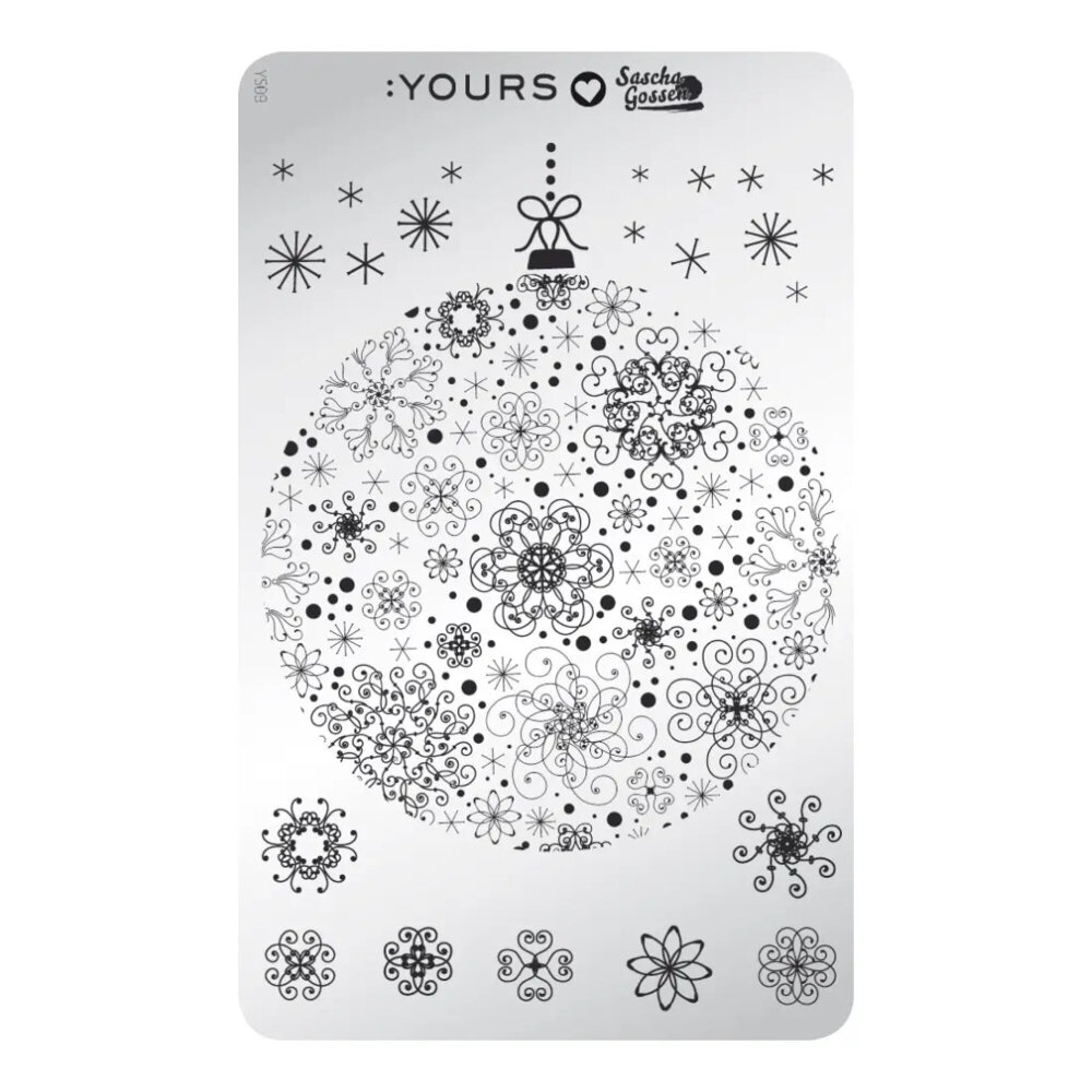 YOURS Sascha - Merry Stamping
