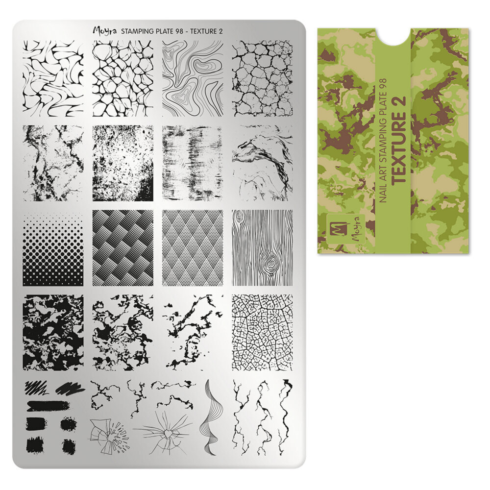 Moyra stamping plade 98 Texture 2