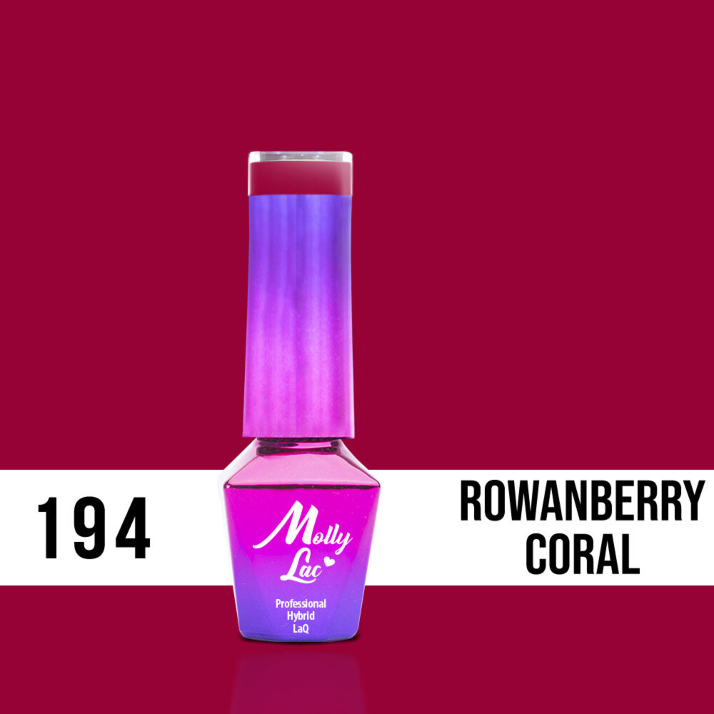 Molly Lac Rowanberry Coral 194