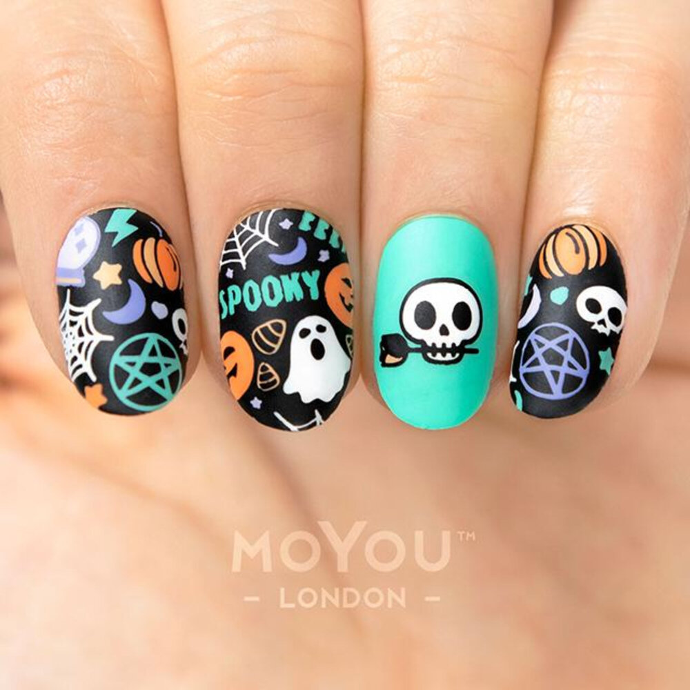 MoYou London - Halloween 03 Stamping plade