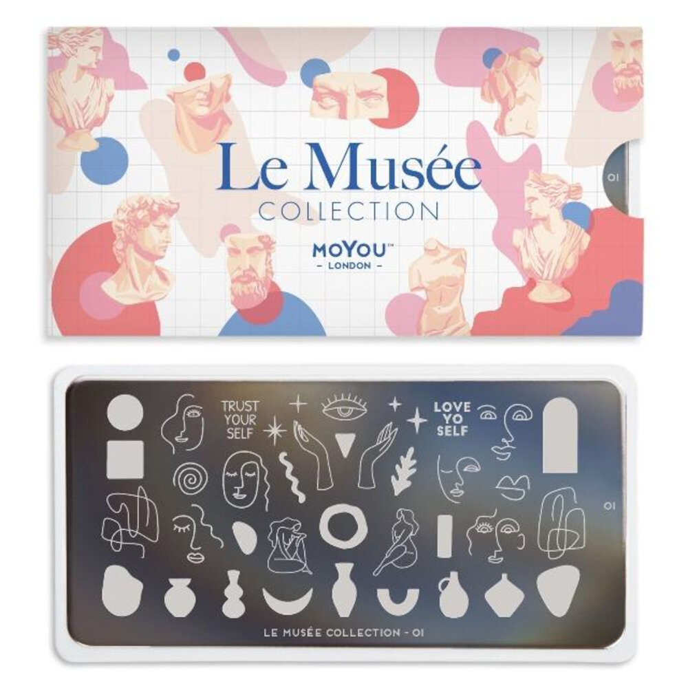 MoYou London - Le Musée 01 Stamping plade