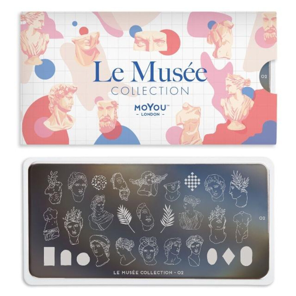 MoYou London - Le Musée 02 Stamping plade
