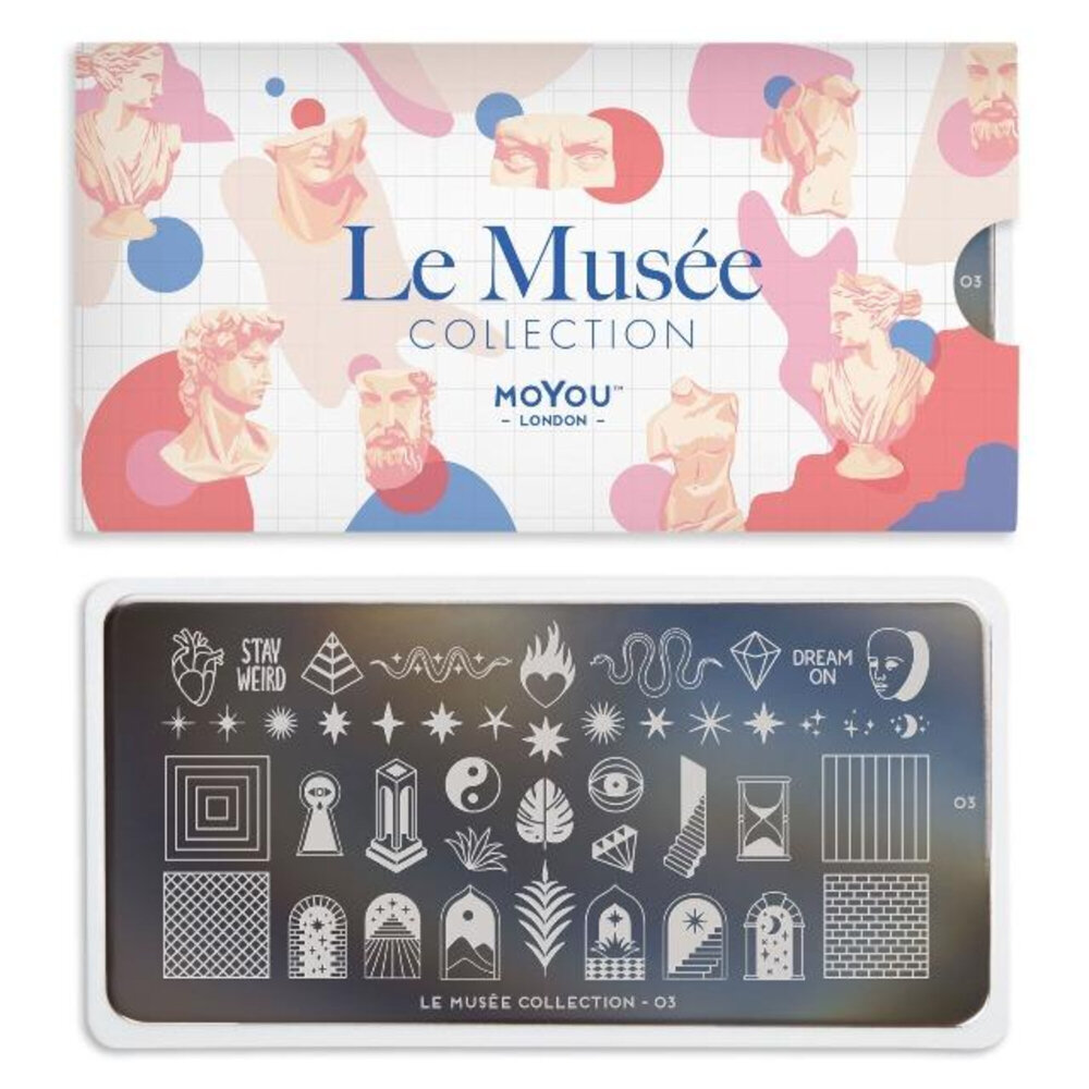 MoYou London - Le Musée 03 Stamping plade