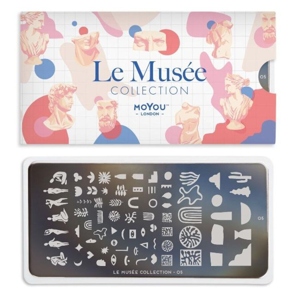 MoYou London - Le Musée 05 stamping plade