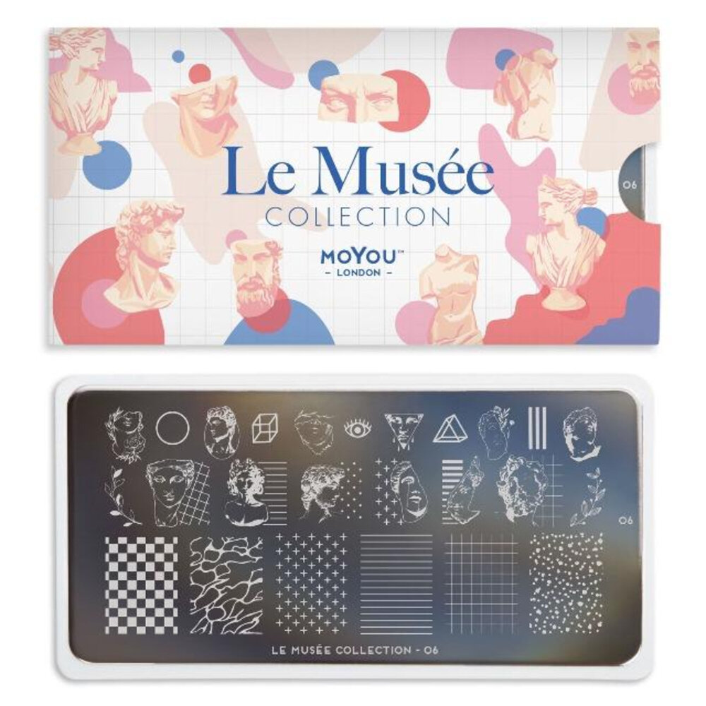 MoYou London - Le Musée 06 stamping plade