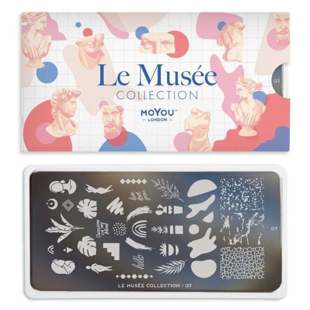 MoYou London - Le Musée 07 Stamping plade