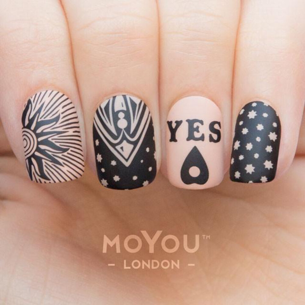 MoYou London - Typography 10 Stamping plade