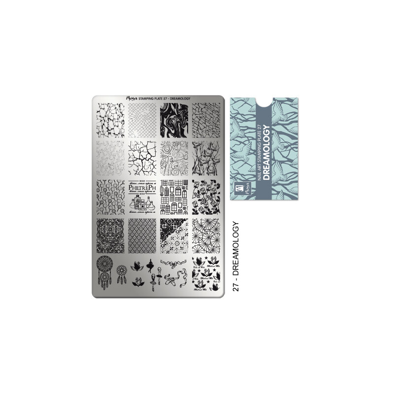 Moyra Stamping plade 27 Dreamology
