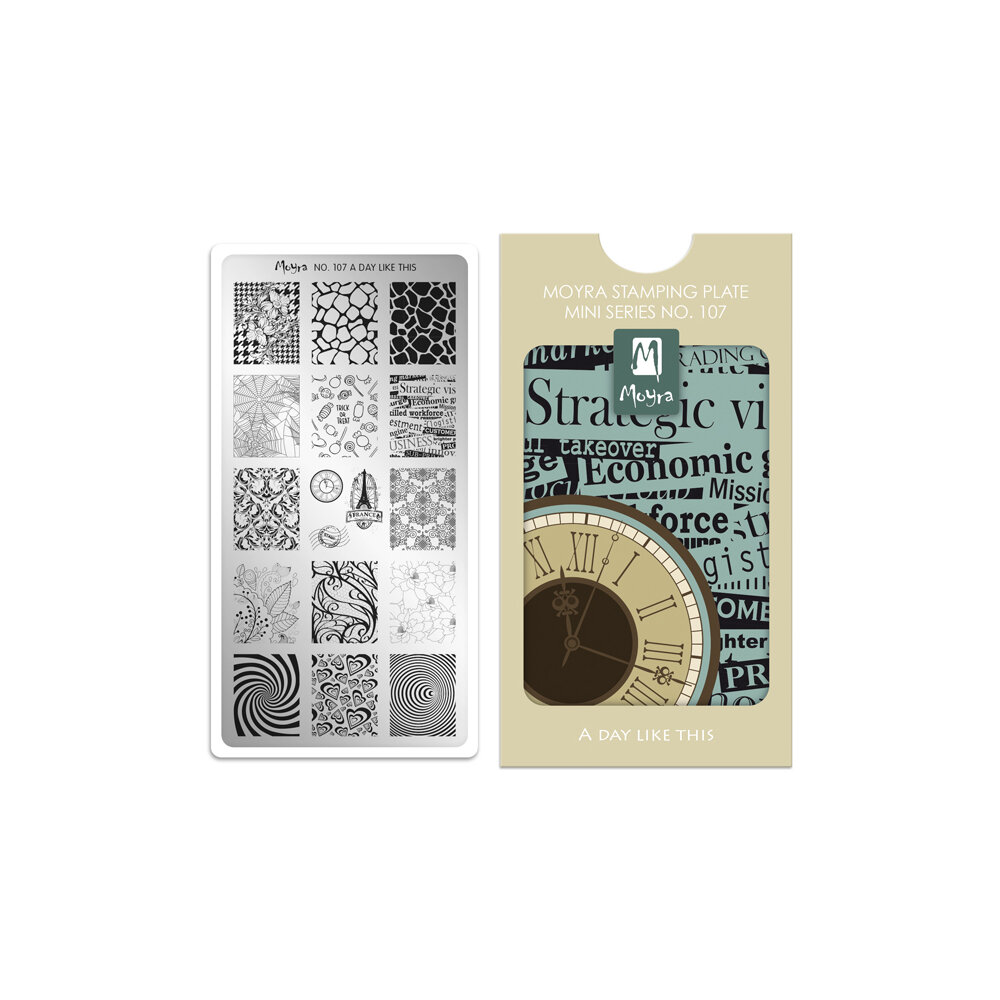 Moyra stamping plade 107 A Day Like This