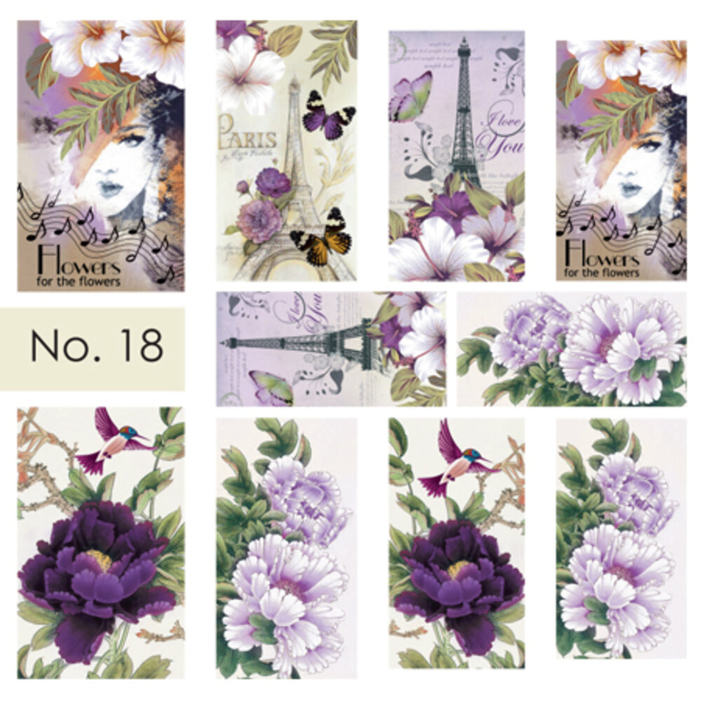 Moyra Water Decals 18