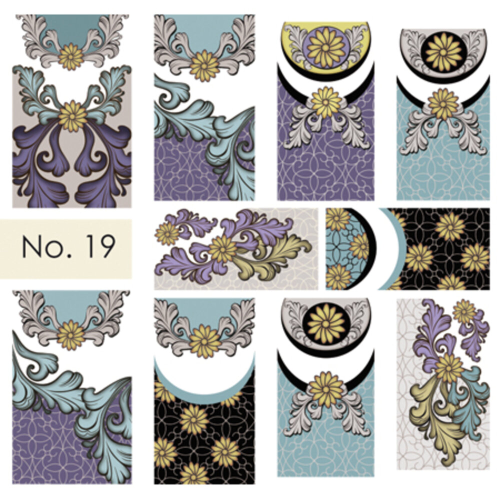 Moyra Water Decals 19
