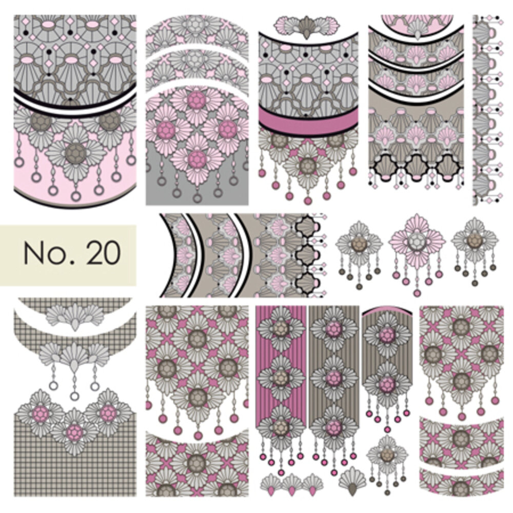 Moyra Water Decals 20