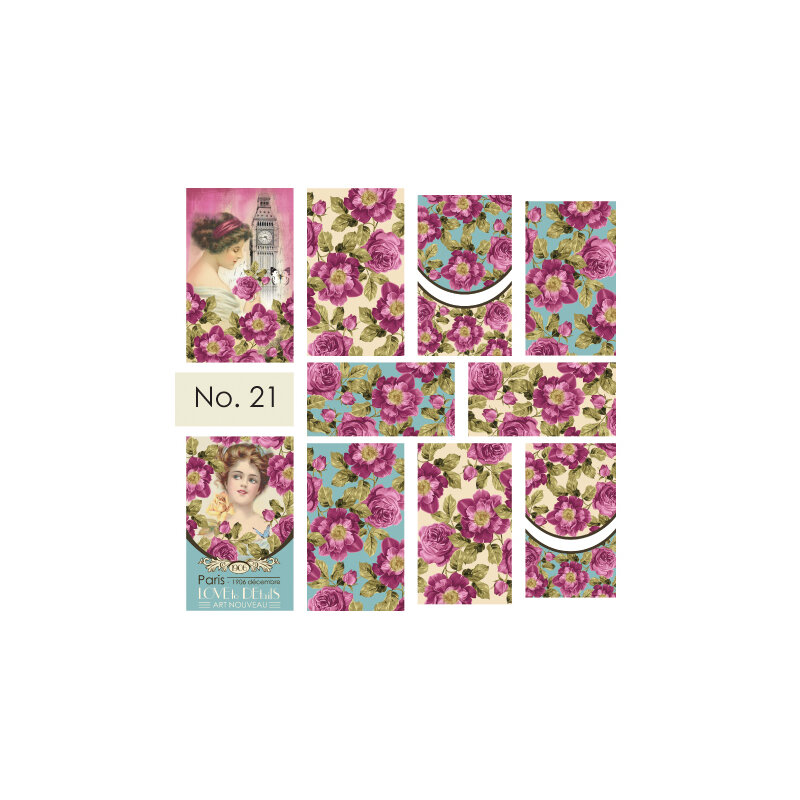 Moyra Water Decals 21
