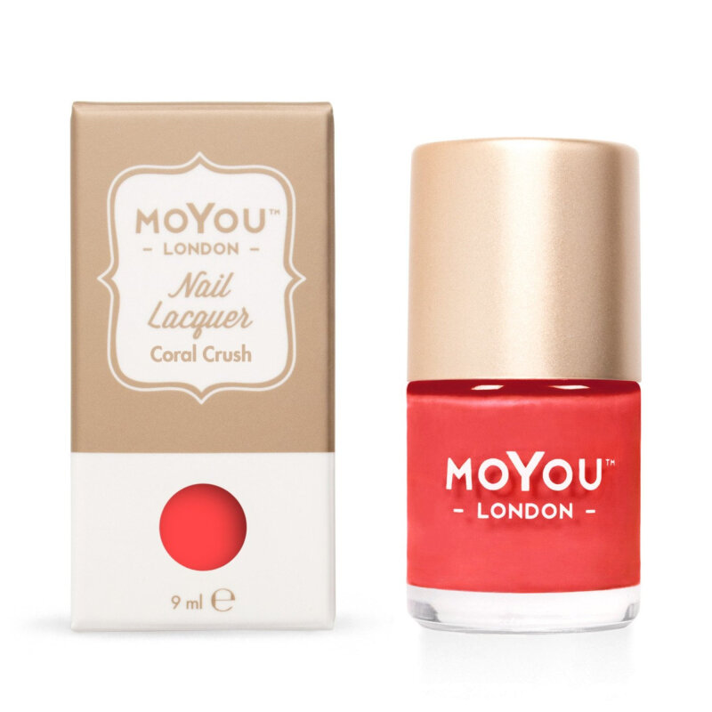 MoYou London Coral Crush